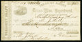 Confederate Notes:Group Lots, Marshall TX- Treasury Agency Trans-Miss. Department Treasury Draft$208.50 Jan. 7, 1865. ...