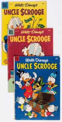 Uncle Scrooge Group of 10 (Dell, 1953-67) Condition: Average VG-.... (Total: 10 )