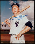 "Autographs:Photos, Mickey Mantle ""No. 7"" Signed Oversized Photograph. . ..."