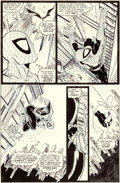 Original Comic Art:Panel Pages, Todd McFarlane Amazing Spider-Man #310 Story Page 5 OriginalArt (Marvel, 1988)....