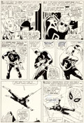 Original Comic Art:Panel Pages, John Romita Sr. Daredevil #16 Story Page 7 Original Art (Marvel, 1966)....