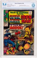 Silver Age (1956-1969):Superhero, Tales of Suspense #94 (Marvel, 1967) CBCS NM 9.4 Off-white to white pages....