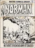 """Original Comic Art:Covers, Barry Windsor-Smith National Lampoon #26 May, 1972 """"Norman the Barbarian"""" Faux Cover Original Art (National Lampoo..."""