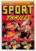 Golden Age (1938-1955):Miscellaneous, Sport Thrills #12 (Star Publications, 1951) Condition: FN+....