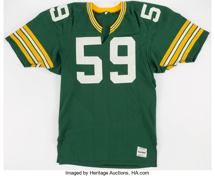 wholesale dealer 7d801 02a93 1981 John Anderson Game Worn Green Bay Packers Home Jersey ...