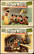 """Movie Posters:Animation, Snow White and the Seven Dwarfs (RKO, 1937). Lobby Cards (2) (11"""" X 14"""").. ... (Total: 2 Items)"""