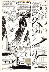 Jim Starlin (as Steve Apollo) and David Hunt Superboy and the Legion of Super-Heroes #251 Story Page 10 Original A
