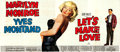 "Movie Posters:Comedy, Let's Make Love (20th Century Fox, 1960). 24 Sheet (104"" X 232"").. ..."