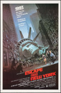 "Movie Posters:Science Fiction, Escape from New York (Avco Embassy, 1981). One Sheet (27"" X 41""). Science Fiction.. ..."