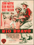 "Movie Posters:Western, Rio Bravo (Warner Brothers, 1959). French Grande (47.25"" X 63.25"").Western.. ..."