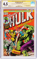 Bronze Age (1970-1979):Superhero, The Incredible Hulk #181 Signature Series (Marvel, 1974) CGC VG+4.5 Off-white pages....