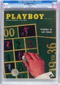 Magazines:Vintage, Playboy V5#4 (HMH Publishing, 1958) CGC NM- 9.2 White pages....