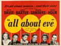 "Movie Posters:Academy Award Winners, All About Eve (20th Century Fox, 1950). British Quad (30"" X 40"")....."