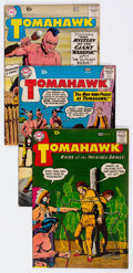 Silver Age (1956-1969):Adventure, Tomahawk Group of 52 (DC, 1959-70) Condition: Average VF-.... (Total: 52 Comic Books)