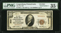 National Bank Notes:Pennsylvania, Coopersburg, PA - $10 1929 Ty. 1 The First NB Ch. # 9034. ...