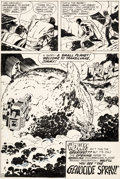 Original Comic Art:Panel Pages, Jack Kirby and Vince Colletta Superman's Pal, Jimmy Olsen#142 Story Page 22 Original Art (DC, 1971)....