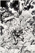 Original Comic Art:Covers, Jim Lee and Scott Williams Fantastic Four V2#4 Cover Original Art (Marvel, 1997)....