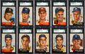 Baseball Cards:Lots, 1953 Topps Baseball High End Collection (271). ...