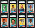 Baseball Cards:Lots, 1961 Fleer Baseball Greats First Series High Grade Collection (94)....