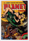 Golden Age (1938-1955):Science Fiction, Planet Comics #72 (Fiction House, 1953) Condition: FN....