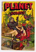 Golden Age (1938-1955):Science Fiction, Planet Comics #69 (Fiction House, 1952) Condition: FN-....