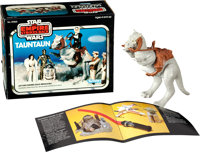 """The Empire Strikes Back (Kenner, 1980). Tauntaun Figurines (6) (8"""" X 7"""") in Original Packages (9"""" X 7&quo..."""