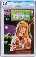 Bronze Age (1970-1979):Horror, House of Secrets #92 (DC, 1971) CGC FN/VF 7.0 Cream to off-whitepages....
