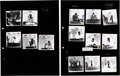 Music Memorabilia:Photos, Rolling Stones - Group of 14 Photo Positive Transparencies with Contact Sheets (Germany, 1967)....