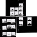 Music Memorabilia:Photos, Rolling Stones - Group of Photo Positive Transparencies withContact Sheets (1970 / 1973)....