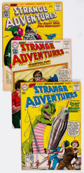 Silver Age (1956-1969):Science Fiction, Strange Adventures Group of 67 (DC, 1960-67) Condition: AverageVG+.... (Total: 67 Comic Books)