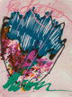 Dale Chihuly (American, b. 1941) Untitled Watercolor and acrylic on Arches Aquarelle paper 41-1/2 x 29-1/2 inches (10...