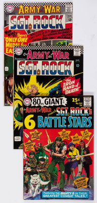 Our Army at War Group of 17 (DC, 1966-82) Condition: Average VF+.... (Total: 17 Comic Books)