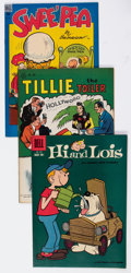 Golden Age (1938-1955):Humor, Four Color Golden Age Humor Group of 21 (Dell, 1946-61) Condition: Average VF+.... (Total: 21 Comic Books)