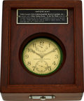Timepieces:Pocket (post 1900), Hamilton Model 22 U.S. Navy Chronometer Deck Watch, Original Box. ...