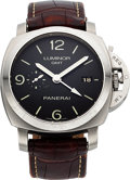 Timepieces:Wristwatch, Panerai Luminor 44 1950 GMT PAM00320 For Restoration. ...