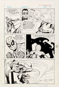 Original Comic Art:Panel Pages, Dick Giordano (attributed) Spider-Man: Invasion of the Dragonmen[Book and Record Set] #PR24 Story Page 17 Origina...