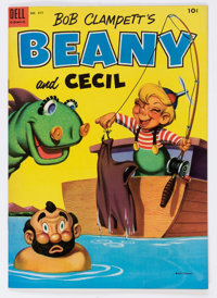 Four Color #477 Beany and Cecil (Dell, 1953) Condition: VF+