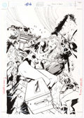 "Original Comic Art:Covers, Jackson ""Butch"" Guice Birds of Prey #24 Cover Original Art(DC, 2000)...."