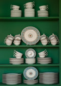 Ceramics & Porcelain, British:Contemporary   (1950 to present)  , A One Hundred and Seventy Eight-Piece Wedgwood FlorentinePattern Porcelain Service, Burslem (Stoke-on-Trent), S... (Total:178 Items)
