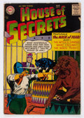 Silver Age (1956-1969):Horror, House of Secrets #2 (DC, 1957) Condition: VG+....
