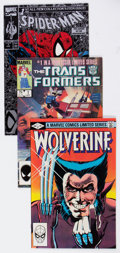Modern Age (1980-Present):Miscellaneous, Marvel Modern Age Short Box Group (Marvel, 1980s-90s) Condition: Average VF/NM....