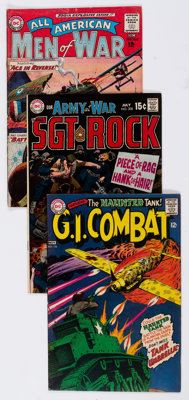 DC Silver to Modern Age War Comics Short Box Group (DC, 1963-80) Condition: Average FN/VF