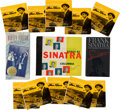 Movie/TV Memorabilia:Recordings, A Frank Sinatra Collection of Records, Cassette Tapes, and CDs,1940s-1990s....