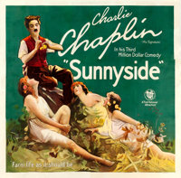 "Sunnyside (First National, 1919). Six Sheet (80.75"" X 77.75"")"