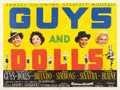 "Movie Posters:Musical, Guys and Dolls (MGM, 1955). British Quad (30"" X 40"").. ..."