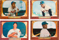 Baseball Cards:Lots, 1955 Bowman Baseball Collection (577) With Stars & HoFers. ...