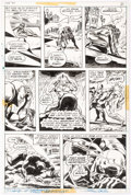 Original Comic Art:Panel Pages, Gene Colan and Ernie Chan Daredevil #98 Page 21 Original Art(Marvel, 1973)....