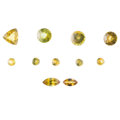 Estate Jewelry:Unmounted Gemstones, Unmounted Sphene. ... (Total: 11 Items)