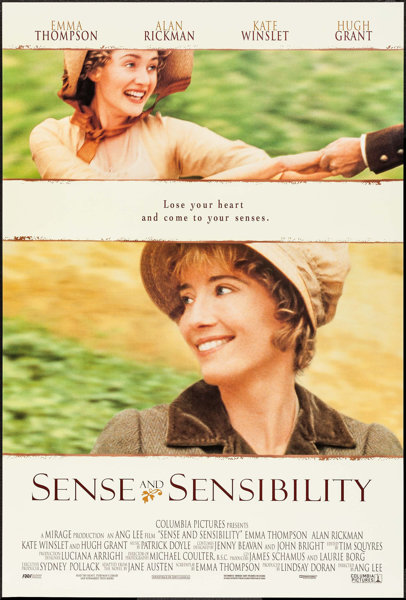 Sense And Sensibility Other Lot Columbia 1995 One