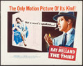 """Movie Posters:Crime, The Thief (United Artists, 1952). Half Sheet (22"""" X 28"""") Style B. Crime.. ..."""